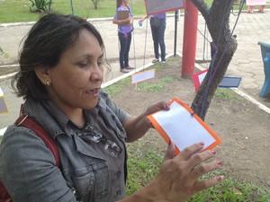 Graça Maria da Silva, de 40 anos (Foto: Dyepeson Martis/G1)