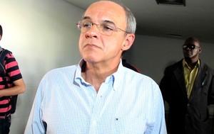Eduardo Bandeira de Mello coletiva Flamengo (Foto: Gustavo Roststein)