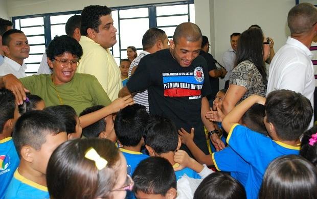 José Aldo (Foto: Adeilson Albuquerque/GLOBOESPORTE.COM)