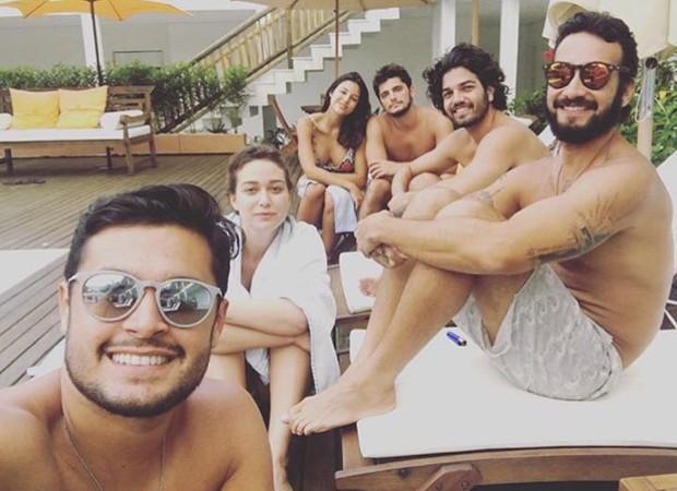 Yanna LAvigne e Bruno Gissoni passaram fim de semana juntos no litoral de SP (Foto: Reprodução/Instagram)
