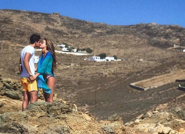Enzo Celulari assume namoro com filha de empresário milionário