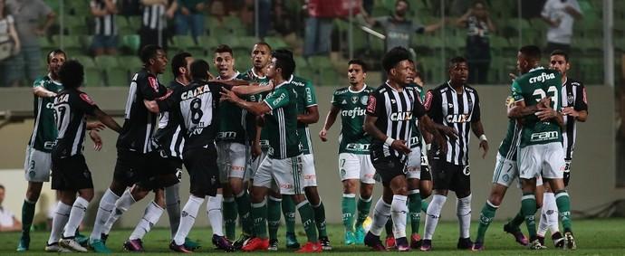Atlético-MG x Palmeiras Gabriel Jesus (Foto: Cristiane Mattos/Futura Press)