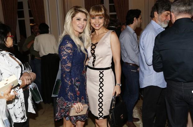 Antonia Fontenelle e Simone Soares (Foto: Felipe Assumpção/AgNews)