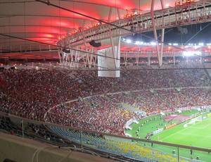 Maracanã torcida Flamengo x Santos (Foto: Janir Junior)