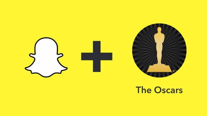 Snapchat estreia Live Stories na Web com Oscar 2016 (Foto: Divulgação/Snapchat)