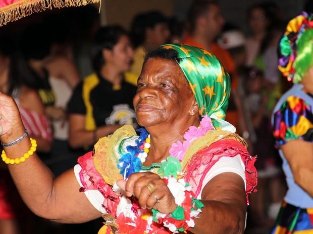 Bloco do Quita durante o carnaval em Cambuí, MG (Foto: Cristovam Silva / VC no G1)