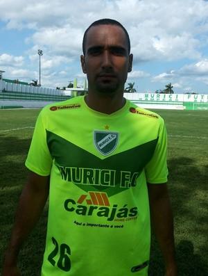 Zagueiro Bruno Recife é apresentado pelo Murici (Foto: Jailson Colácio / Cortesia)