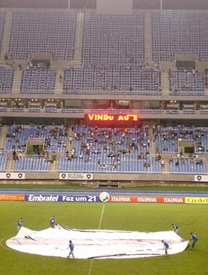 estádio Engenhão vazio para Botafogo x Madureita, 02/04/2009 (Foto: GLOBOESPORTE.COM)