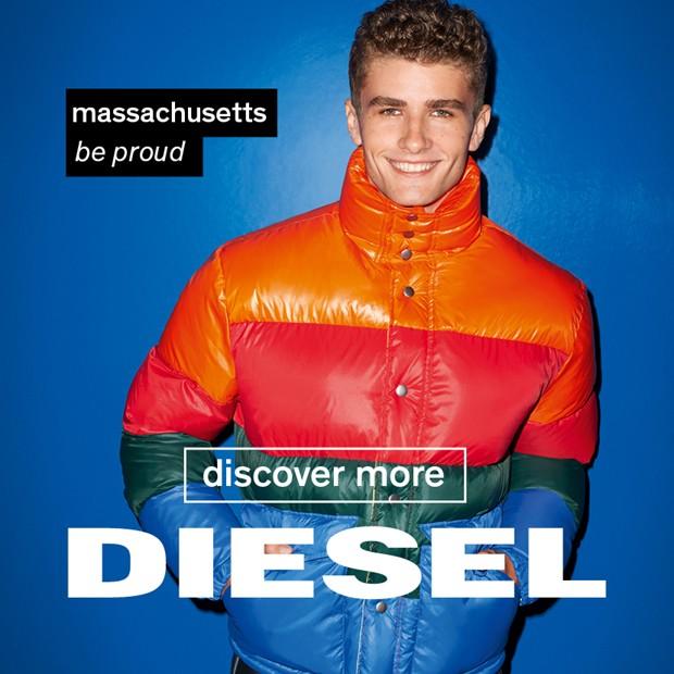 Campanha da Diesel para incentivar o voto nos Estados Unidos (Foto: Divulgação/Terry Richardson)