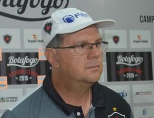 Marcelo Vilar, técnico do Botafogo-PB (Foto: Hévilla Wanderley / GloboEsporte.com/pb)