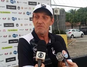 ABC - Wlamir Machado, preparador de goleiros (Foto: Jocaff Souza/GloboEsporte.com)