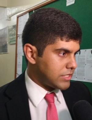 Eduardo de Salles, advogado, Guarany de Sobral (Foto: Crisneive Silveira)