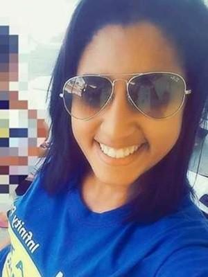 Mykaella Ruanna foi morta a tiros quando estava ao lado do filho, de três anos (Foto: Reprodução)