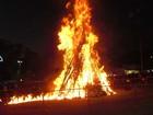 82ª Festa de São João de Tupi, em Piracicaba, tem fogueira de 10 metros