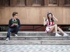 Bruna Hamú e Gui Hamacek em: 'A garota popular e o nerd'