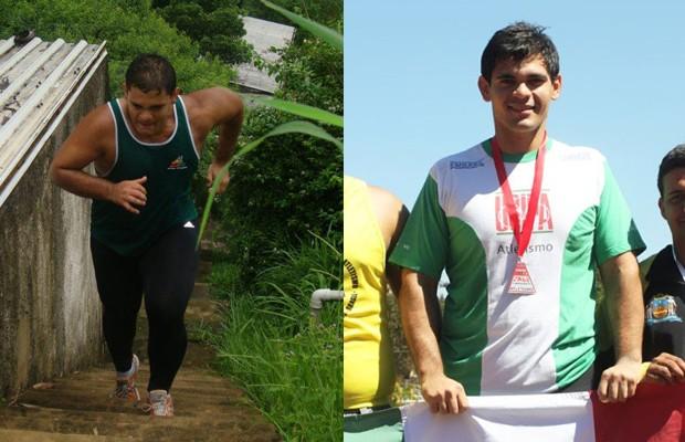 Só de reduzir as calorias e comer de três em três horas, Alain conseguiu perder 50kg ao longo de um ano (Foto: Arquivo pessoal)