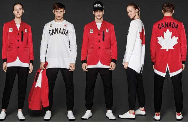 Dsquared2 assina os uniformes da equipe canadense (Foto: Divulgação)