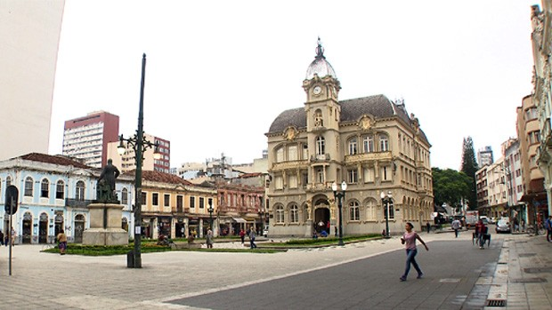 Conheça prédios históricos de Curitiba (Reprodução/RPC)