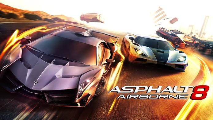 Asphalt 8 é um dos melhores jogos de corrida para celular (Divulgação/Gameloft)