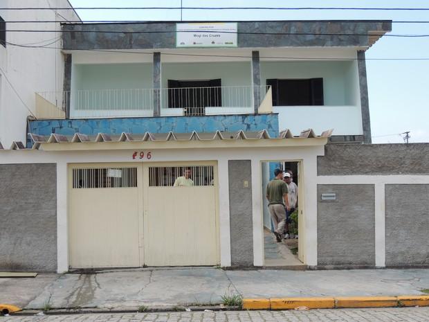 Centro Pop de mogi (Foto: Pedro Carlos Leite/G1)