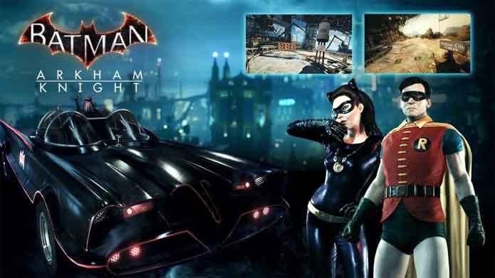 Arkham Knight recebe skins inspiradas pelo seriado antigo do Batman (Foto: Divulgação/Warner)