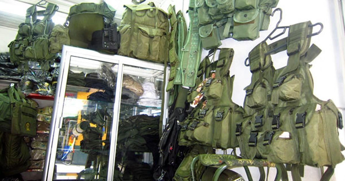 G1 - Venda de acessórios militares vira  negócio  lucrativo na Colômbia -  notícias em Mundo a45a230e55d