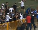 Briga dentro e fora de quadra paralisa semifinal entre Orlândia e Corinthians