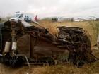 Crianças vítimas de colisão na RN-118 passam bem; mãe morreu na hora
