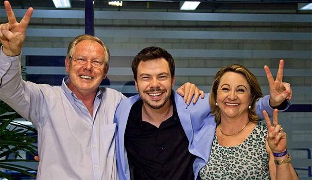 The Voice Gustavo Trebien (Foto: Fabiano Battaglin/TV Globo)