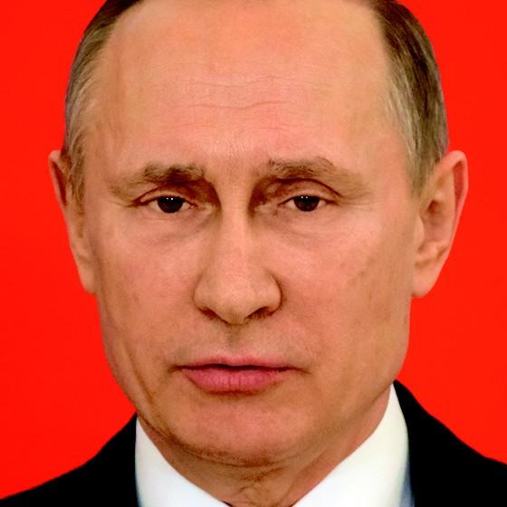 O APOSTADOR  O que torna Putin eficaz, o que o  torna perigoso, não é brilhantismo estratégico, mas flexibilidade tática e adaptabilidade – uma vontade de experimentar, conturbar e correr grandes riscos (Foto: Mikhail Svetlov/Getty Images)