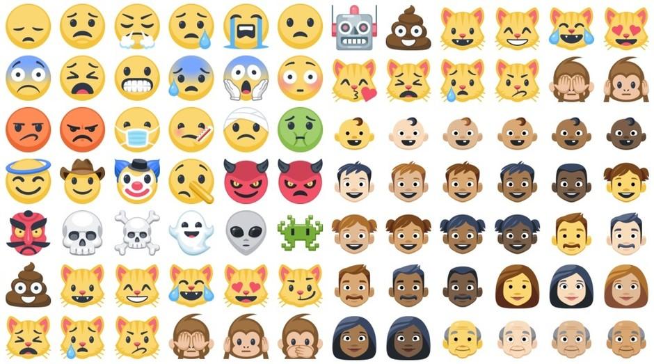 Emojis, Facebook, Novos (Foto: Emojipedia/Reprodução)