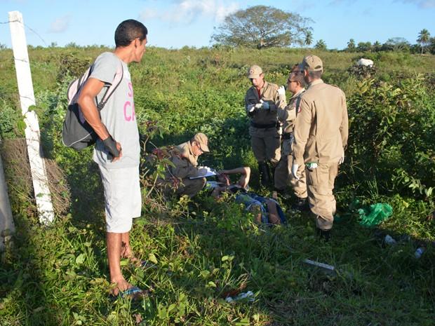 De acordo com equipe de resgate, motociclista estava em alta velocidade em João Pessoa (Foto: Walter Paparazzo/G1)
