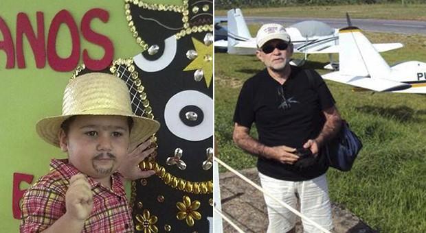 Acidente com ultraleve mata avô e neto em Teresina  (Foto: Arquivo Pessoal)