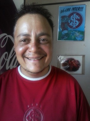Renato diz ser o segundo na lista de espera do HCPA (Foto: Arquivo pessoal)