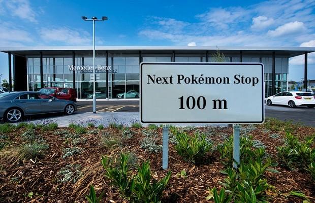 Concessionárias da Mercedes utilizam Pokémon Go para atrair clientes (Foto: Divulgação)