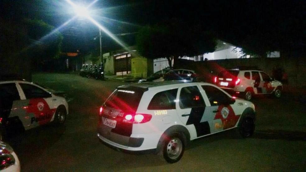 Quadrilha que assaltou condomínio foi presa pela polícia na zona oeste de Marília (Foto: Arquivo Pessoal)