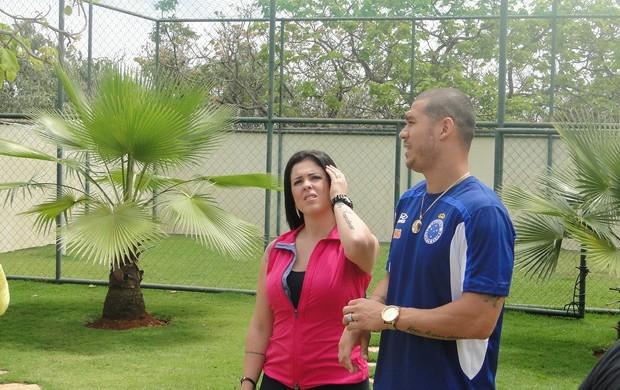 Nilton e Karin para Esporte Espetacular (Foto: Rafael Araújo / Globoesporte.com)