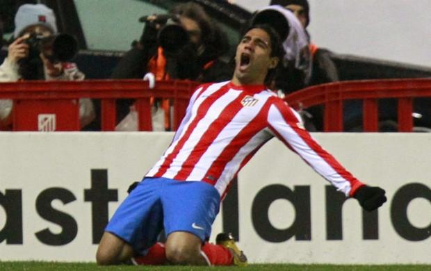 Falcao García Atlético de Madri (Foto: EFE)