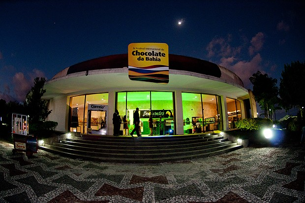 Entrada do Festival Internacional de Chocolate e Cacau da Bahia (Foto: Divulgação)