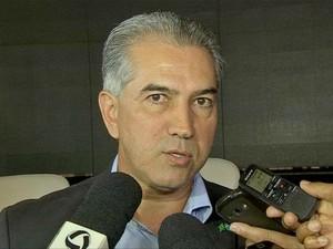 Governador de MS, Reinaldo Azambuja (PSDB) (Foto: Eduardo de Almeida/TV Morena)