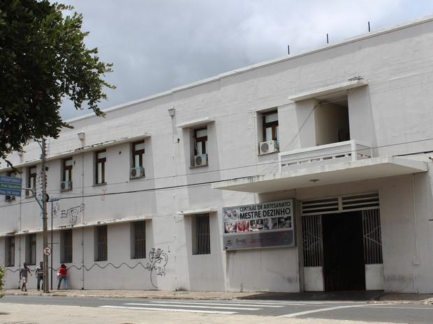 Central de Artesanato Mestre Dezinho (Foto: Patrícia Andrade/G1)