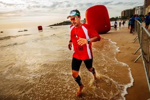 Foto (Foto: Marcio Villar em uma de suas provas de 100km no Rei e Rainha do Mar)