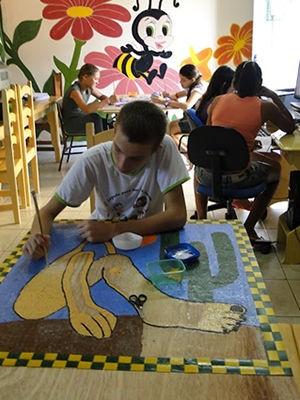 Escola Estadual Luiza Nunes Bezerra MT (Foto: Divulgação / Arquivo Escola Luiza Nunes Bezerra)