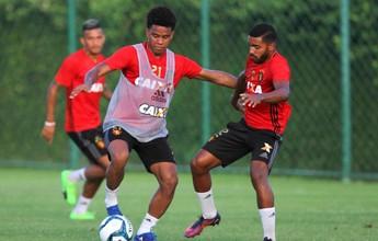 """Recuperado de lesão, Rithely planeja voltar """"em alto nível"""" ao Sport"""