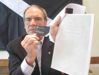 Pedro Valente, candidato à presidência do Vasco (Foto: Rafael Cavalieri / Globoesporte.com)