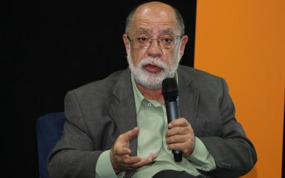 Sérgio Besserman no debate sobre os ODS promovido por Época (Foto: Rogério Cassimiro)