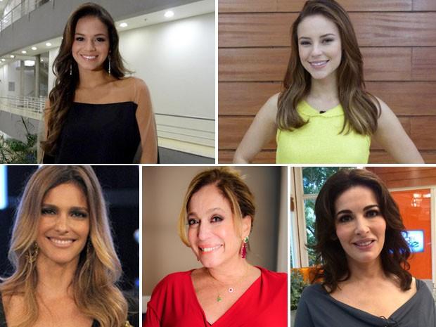 Marquezine, Paolla Oliveira, Fernanda Lima, Susana Vieira e Nigella contam o que as tira da dieta (Foto: Mais Você / TV Globo)