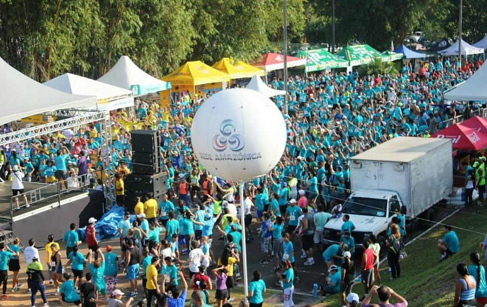 Mais de 2 mil pessoas participaram da competição em Manaus (Foto: Alirio Lucas/ GE AM)