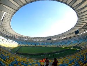 Maracanã evento teste Copa  (Foto: AFP)