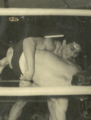 Jairo Moura fez 80 lutas no vale-tudo (Foto: Arquivo Pessoal)